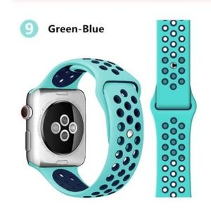 ❤️NEW Green Blue Sport Band For Apple Watch